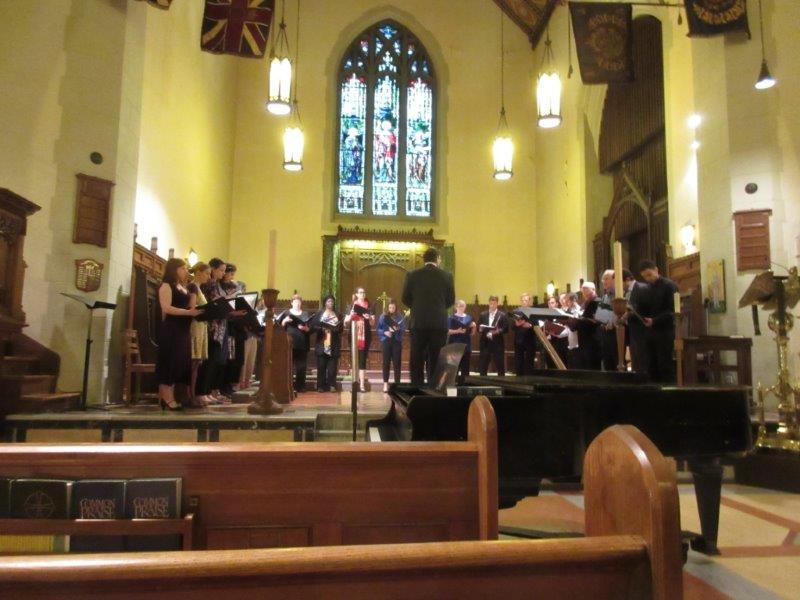 13. Choir in chancel (1)